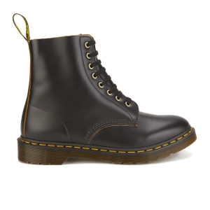 Dr. Marten's Men's Archive Pascal 8-Eye Leather Boots - Black Vintage Smooth