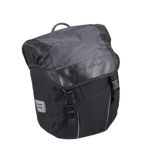 Outeredge Pannier Right Hand Bag - Large - Black/Grey