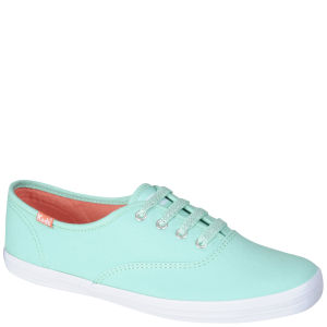 Keds Champion Oxford Pumps - Teal