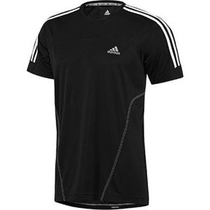 Adidas Men's Response Short Sleeve T-Shirt - Black/White