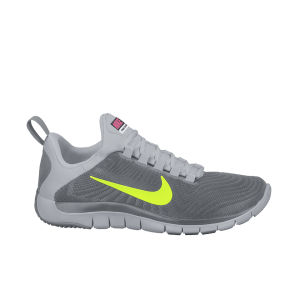 Nike Men's Free Trainer 5.0 Training Shoes - Cool Grey/Volt