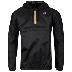 K - Way Men's Leon Half Zip Jacket - Black