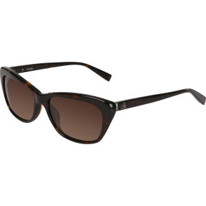 Calvin Klein Cat Eye Sunglasses - Havana
