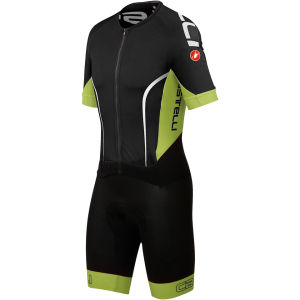 Castelli Sanremo 3.0 Speed Suit - Black/Lime/White