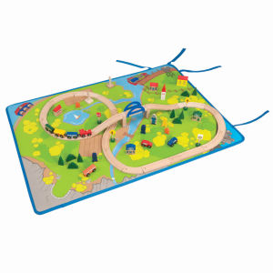 All Aboard Track Playmat