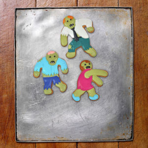 Undead Gingerbread Cutters (Set of 3)