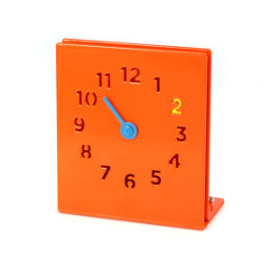 Desk Clock - Orange