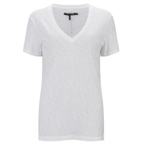 rag & bone Women's Jackson V-Neck T-Shirt - Bright White