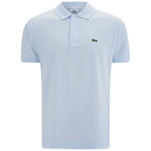 lacoste men 39 s polo shirt baby blue