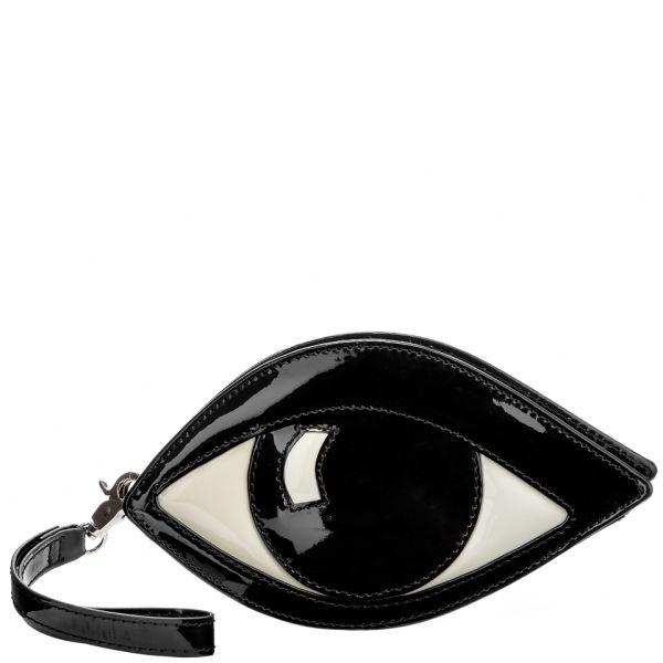 Lulu Guinness Eye Coin Purse - Black