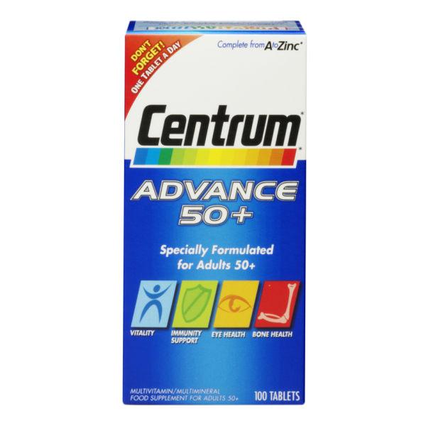 Centrum Advance 50 Plus (100 Tablets)