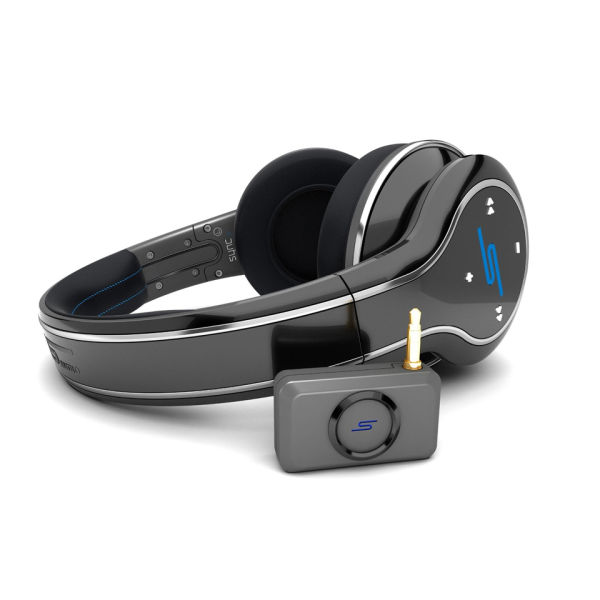 sms audio by 50 cent sync wireless bluetooth headphones black electronics. Black Bedroom Furniture Sets. Home Design Ideas