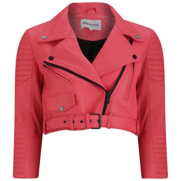 American Retro Women's Marine Jacket - Orange