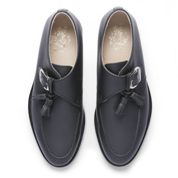 Mr Hare Men s Bacon Tassel Leather Monk Shoes - Black