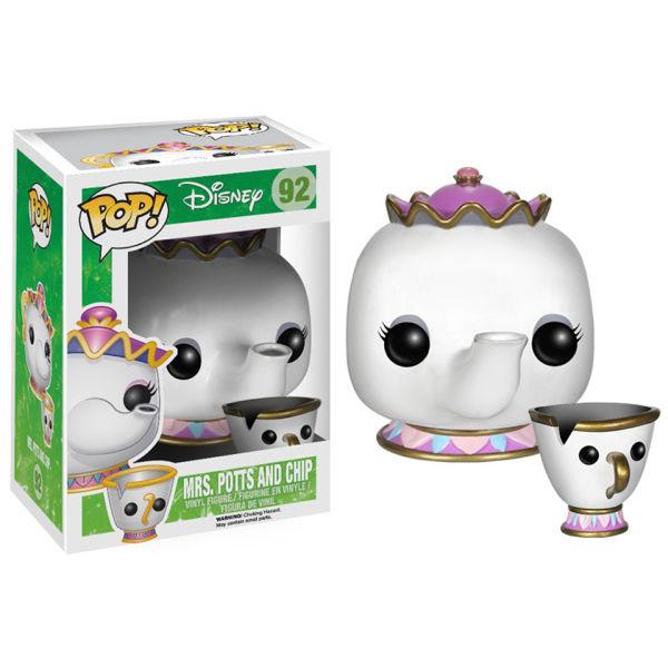 Disneys Beauty and the Beast Mrs. Potts and Chip Pop! Vinyl Figure