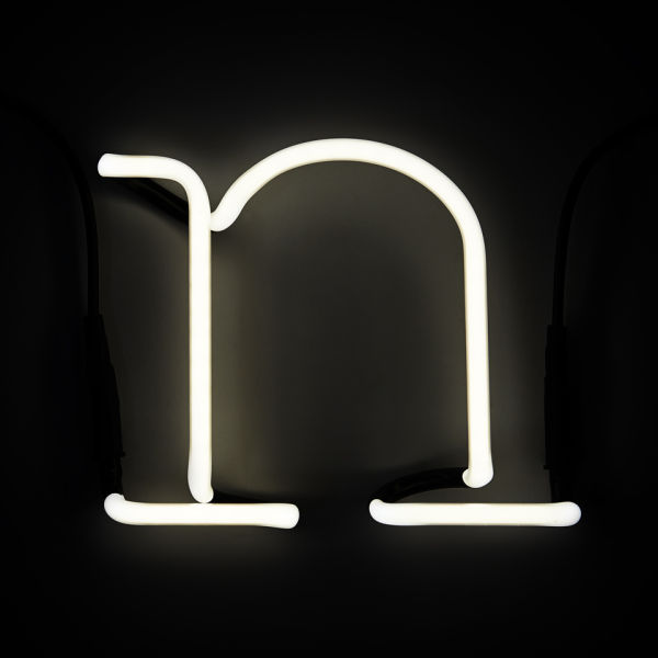 Seletti neon letter n free uk delivery over gbp50 for Large neon letters