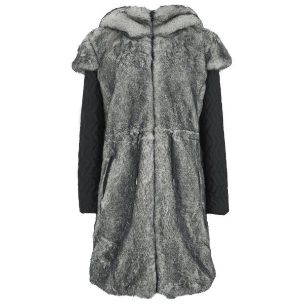 Christopher Raeburn Women's Faux Fur Coat - Polar Fox