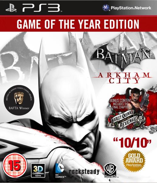 Batman: Arkham City: Game of the Year Edition PS3 | Zavvi