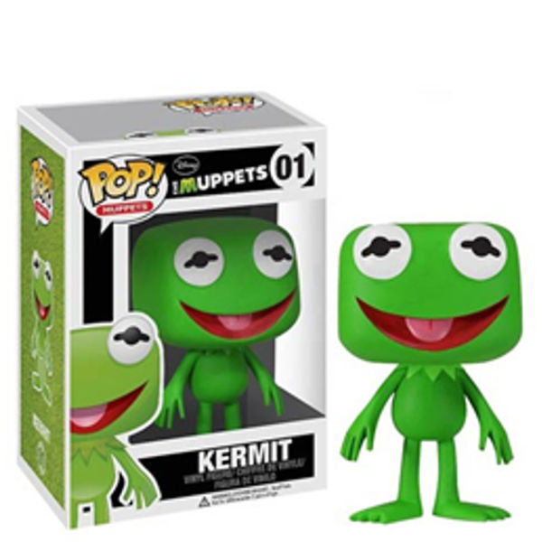 Muppets Most Wanted Kermit The Frog Pop Vinyl Figure