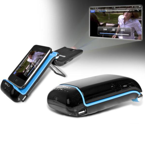 Mili iphone projector special buy sowia for Iphone pocket projector best buy