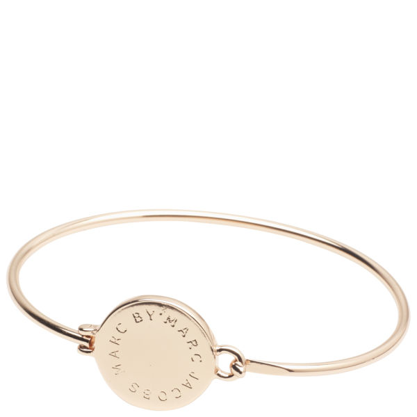 Marc by Marc Jacobs Big Logo Hinge Bracelet - Rose Gold