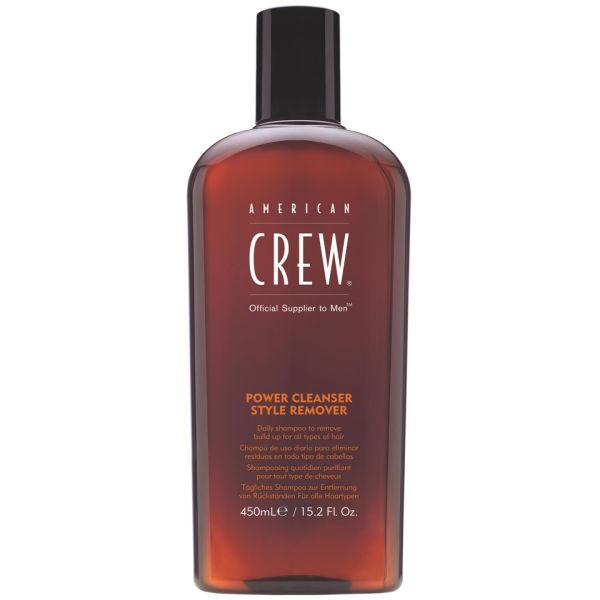 American Crew Power Cleanser Style Remover (450 ml) – Reinigungsshampoo zum Entfernen von Rückständen