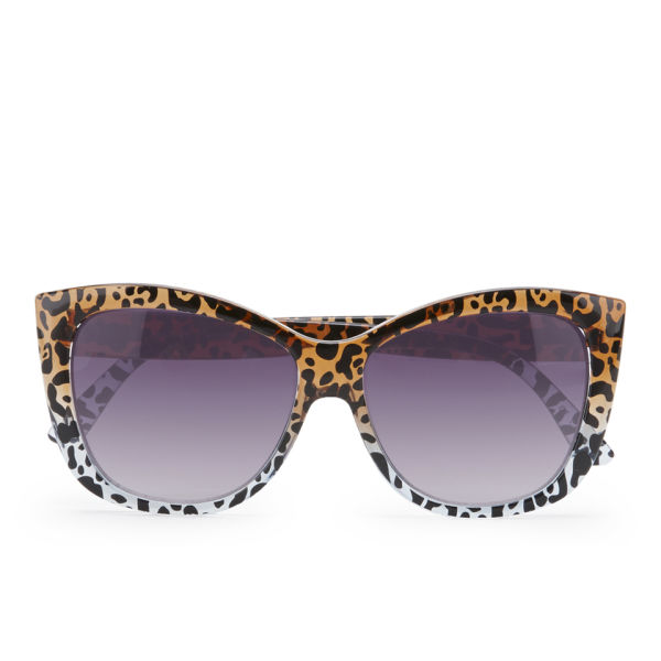 Le Specs Women's Hatter Cheetah Sunglasses - Cheetah