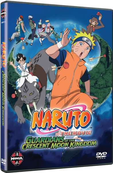 Naruto the Movie 3: Guardians of the Crescent Moon Kingdom | IWOOT