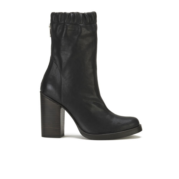 Opening Ceremony Women's Leather Lucie Ankle Boots - Black