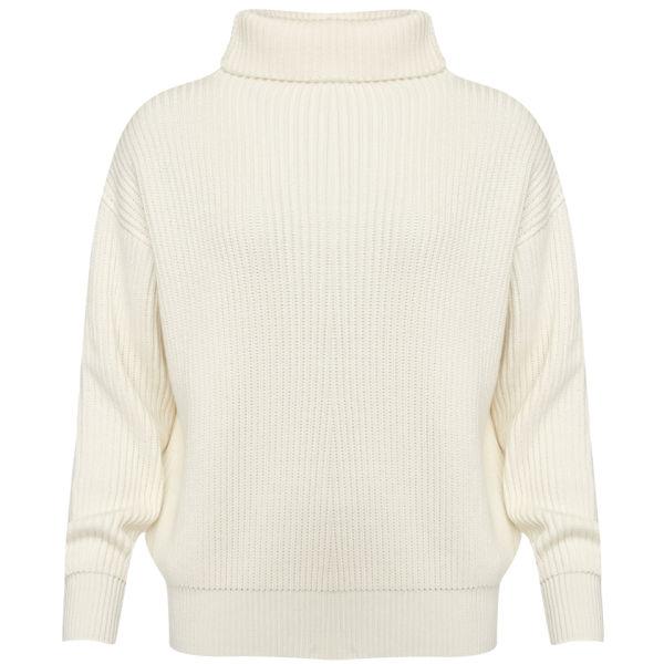 Joseph Women's Cotwool Oversized Sweater - Off White