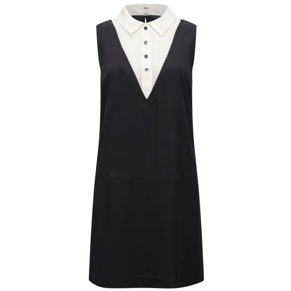Marc by Marc Jacobs Women's A-Line Triangle Bib Dress - Black