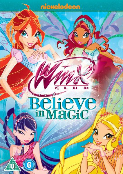 Winx Club Believe In Magic Dvd