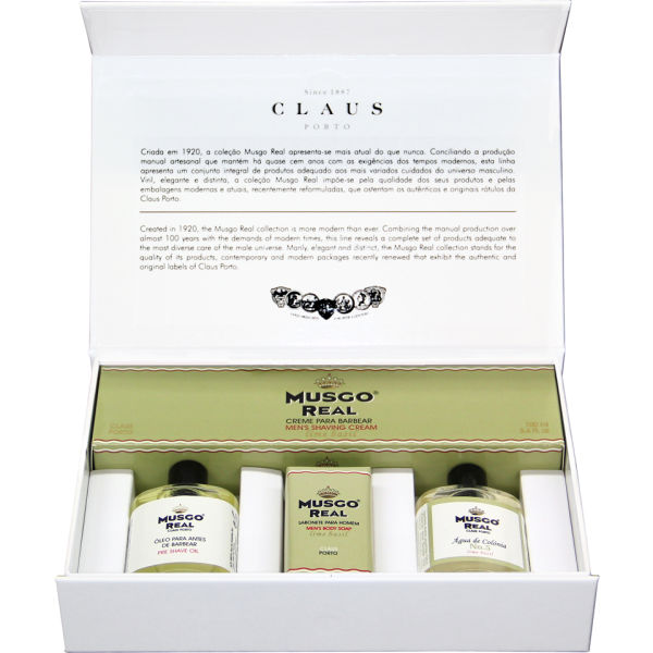 Musgo Real Grooming Boxed Set - Lime Basil