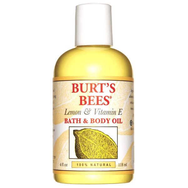 Burt's Bees Lemon & Vitamin E Bade-und Körperöl (4 fl oz / 115ml)