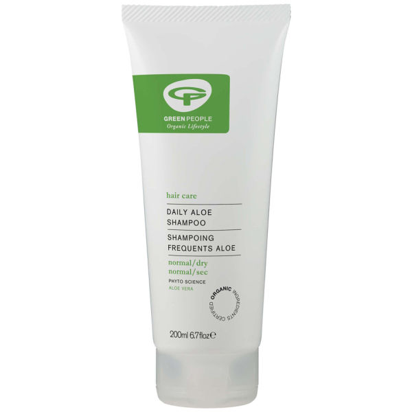 Daily Aloe de  Green People Shampoo (200ml)