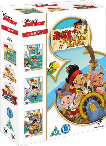 Jake And The Never Land Pirates Box Set Dvd Zavvi Com