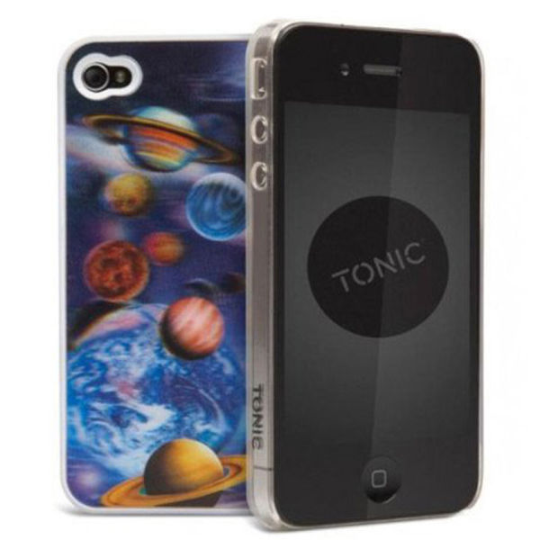 Cygnett Tonic iPhone 4 Case - 3D Planets