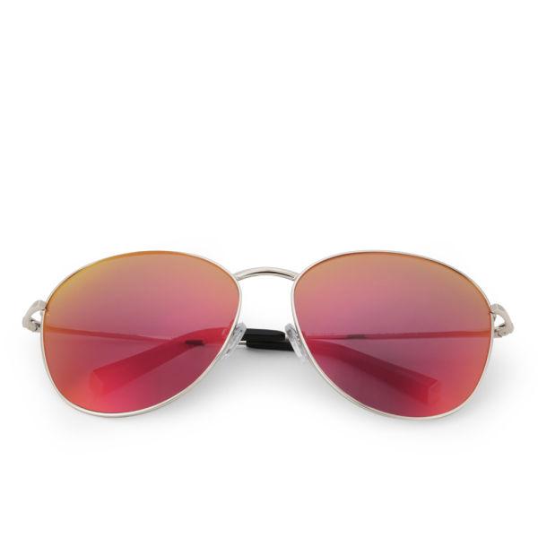 Matthew Williamson Revo Lens Aviator Sunglasses - Red