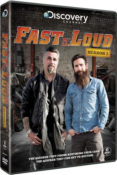 fast n 39 loud season 2 dvd. Black Bedroom Furniture Sets. Home Design Ideas