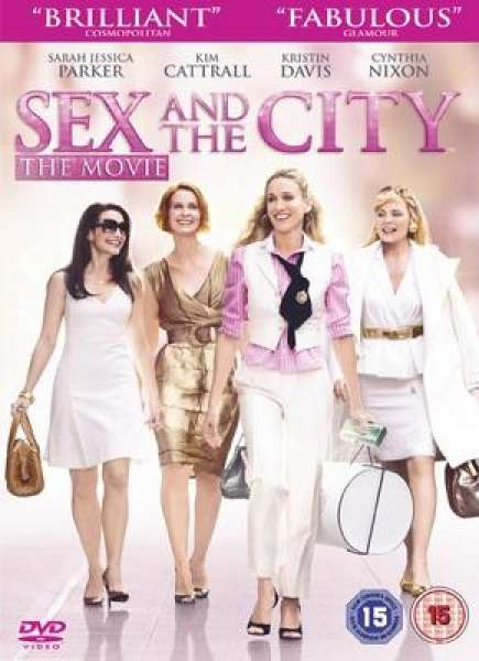 Sex And The City The Movie DVD.