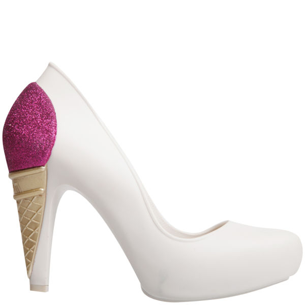Karl Lagerfeld for Melissa Women's Incense Ice Cream Heels - Vanilla
