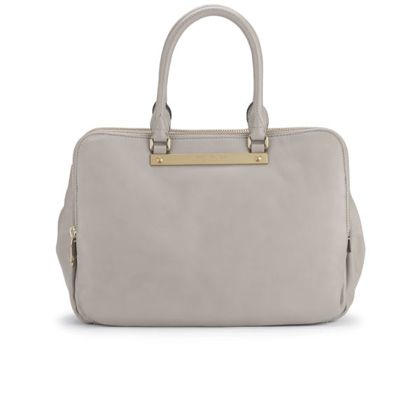 Marc by Marc Goodbye Columbus Jacobs Leather Zip Multi Compartment Tote Bag - Cement