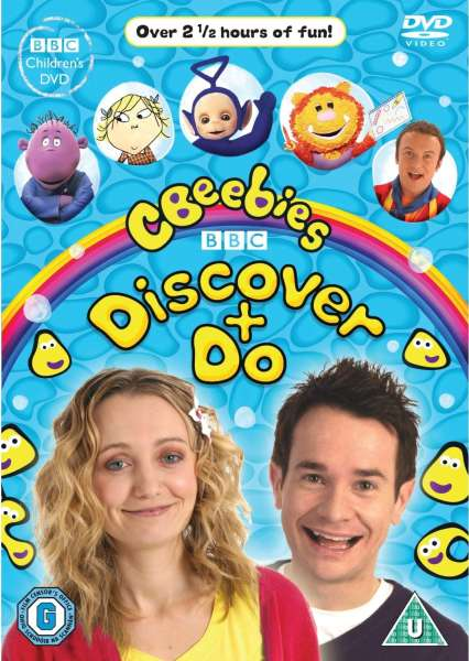Cbeebies Discover And Do Dvd Zavvi Com