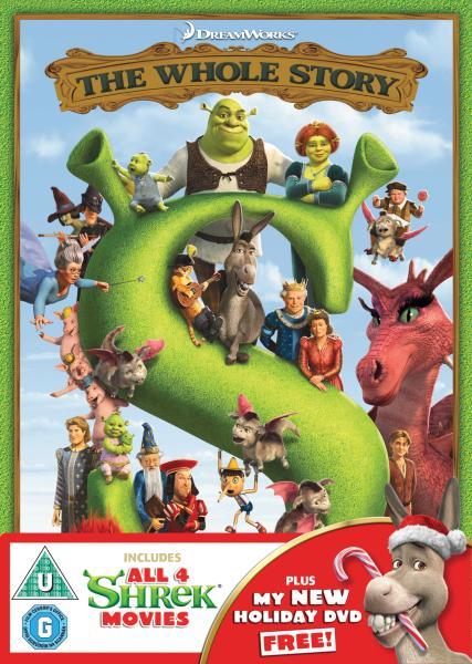 Shrek 1 4 Box Set Dvd Zavvi Com