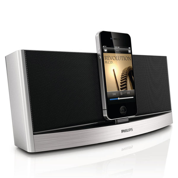 philips ad620 05 bluetooth docking station silver electronics. Black Bedroom Furniture Sets. Home Design Ideas