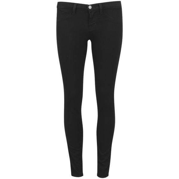 J Brand Women's Low Rise Super Skinny Jeans - Pitch