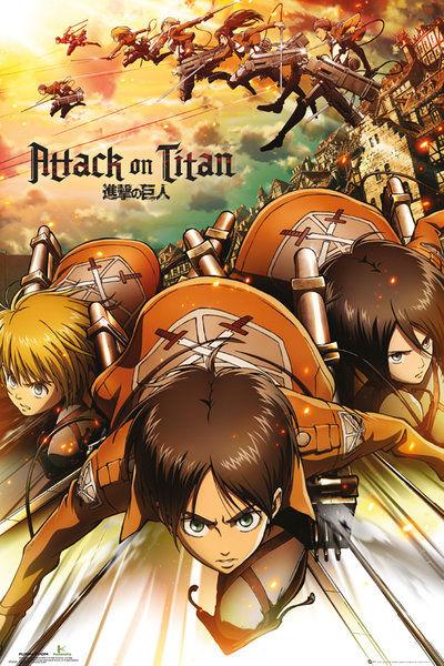 Attack on Titan Attack - Maxi Poster - 61 x 91.5cm
