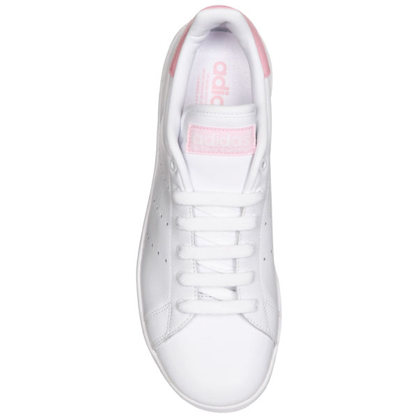 huge selection of f7ecb cc136 adidas Womens Stan Smith Trainers White Pink Sports   Leisure