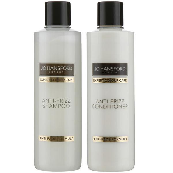 Jo Hansford Expert Colour Care Anti Frizz Shampoo andConditioner (250 ml)