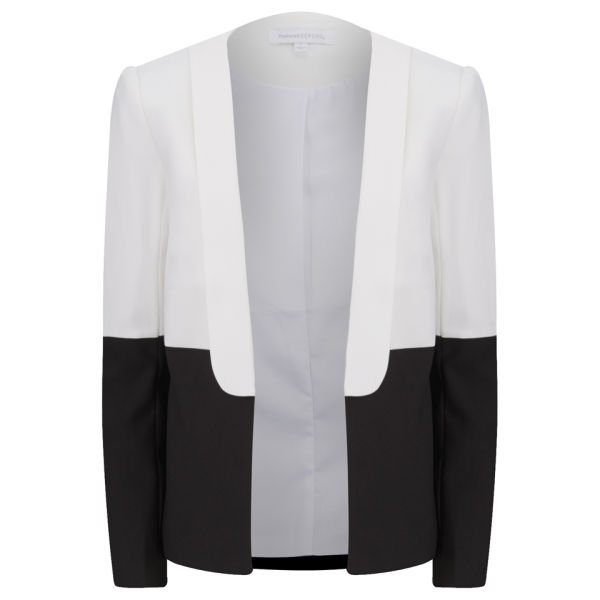 Finders Keepers Women's Summer Smoke Blazer - Ivory/Black